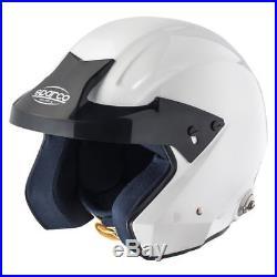 SALE! FIA SNELL Sparco Pro-J open face Helmet size XS fibreglass BEST PRICE
