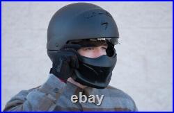 SCORPION EXO COVERT OPEN-FACE HELMET MATTE BLACK (Large) FedEx Overnight (free)