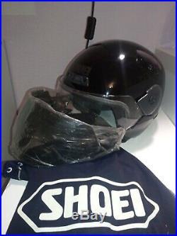 SHOEI DOMO vintage open face helmet Helm, no robocop H1 arai bell magnum toptex