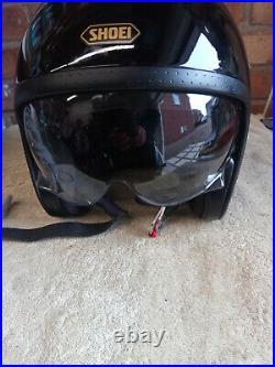 SHOEI JO- Open faced helmet gloss black