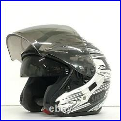 SHOEI J-Cruise CLEAVE White/Gray Motorcycle Open Face Helmet XL 61cm HJ