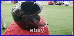 SHOEI J-Cruise Open-Face Motorcycle Helmet Solid Gloss Black Medium
