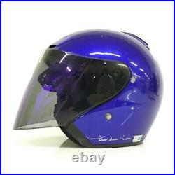 SHOEI J-Force N Dual liner System Blue Open Face Helmet Size M 59/60cm HJ