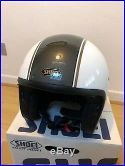 SHOEI J. O Carburettor Motorcycle Helment Size XL (Open Face) TC-6