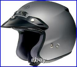 SHOEI RJ Matte Dark Gray Open Face Motorcycle Helmet Medium