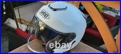 SHOEI open face motorcycle helmet