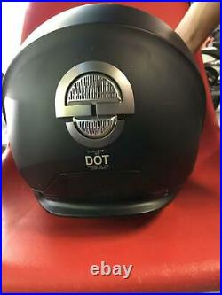 Schuberth M1 Helmet London Matte Black DOT Certified 2XL Open Face 3/4 Motorcycl