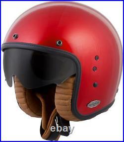 Scorpion Belfast Open-face Solid Helmet Candy Red L Bel-1015