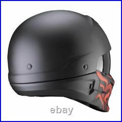 Scorpion Combat Samurai Evo Open Face Modular Motorcycle Motorbike Bike Helmet