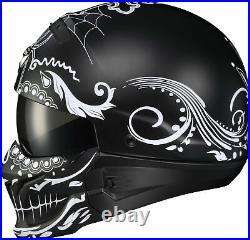 Scorpion Covert El Malo Open Face Helmet Matte Black 2XL