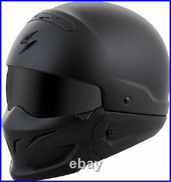 Scorpion Covert Open-Face Solid Helmet Matte Black