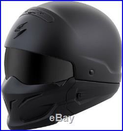 Scorpion Covert Open-Face Solid Helmet Matte Black Large COV-0105 75-1600L