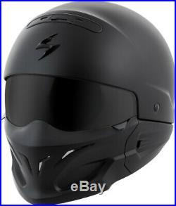 Scorpion Covert Open-face Solid Helmet Matte Black L