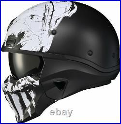 Scorpion Covert X Marauder Open Face Helmet Sm