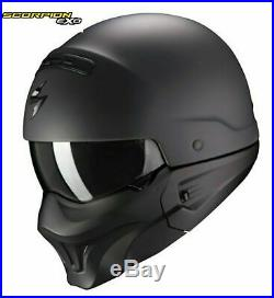 Scorpion Exo Combat Motorcycle Helmet Open Face / Full Face Motorbike Helmet