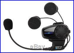 Sena SMH10 Bluetooth Intercom Single Motorcycle Helmet Kit Open Face/Flip Up