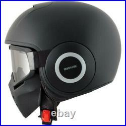 Shark Drak Blank MAT KMA Open Face Motorcycle Bike Crash Helmet