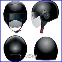 Shark Nano Urban Mod Dvs Motorcycle Open Face Helmet Gloss Black Blk