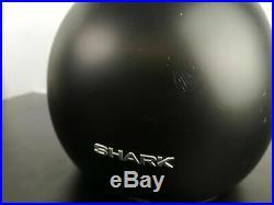 Shark Raw Drak Matte Black Street Bike Open Face Goggles Motorcycle Road Helmet