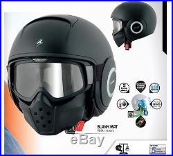 Shark Raw Urban Street Fighter Open Face Motorcycle Motorbike Helmet 4 Colours