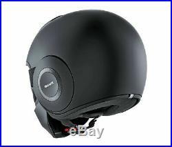 Shark Street-Drak Blank Open Face Motorcycle Helmet Matte Black