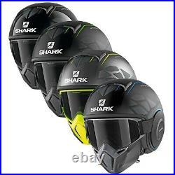 Shark Street Drak Hurok Open Face Motorcycle Bike Helmet Streetfighter Goggles