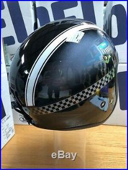 Shoei JO J-O HAWKER TC-5 Open Face Cruiser Retro Motorcycle Helmet BIKE LARGE