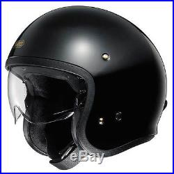 Shoei JO J-O Open Face Jet Cruiser Retro Motorcycle Bike Helmet Gloss Black