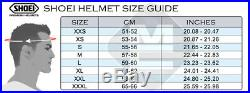 Shoei JO J-O Open Face Jet Cruiser Retro Motorcycle Bike Helmet Plain Rat Grey
