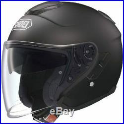 Shoei J-Cruise Matt Black Open Face Motorcycle Helmet