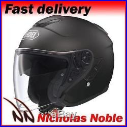 Shoei J-Cruise Matt Black Open Face Pinlock Ready Urban Sunvisor Helmet