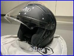 Shoei J Cruise Open Face Motorcycle / Scooter Helmet Matt Black L 59 60