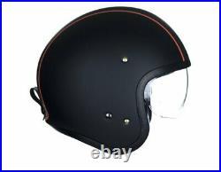 Shoei J. O Carburettor TC-8 schwarz matt Gr M Open Face Helm Jethelm Motorradhelm
