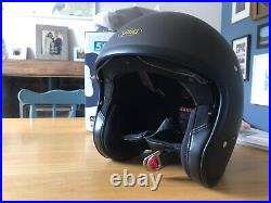 Shoei J-O Open Face Helmet Matt Brown Brand New (No Tags) Never been worn