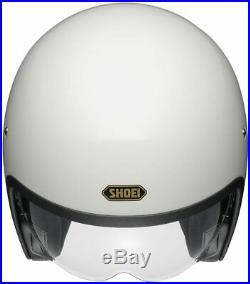 Shoei J. O off white weiß Gr. L Open Face Helm Jethelm Motorradhelm creme weiß