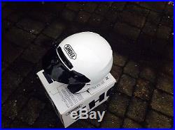 Shoei Open Face white helmet Medium fit 57-58 cm head size