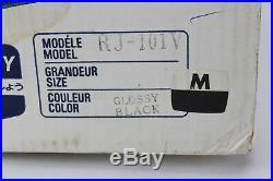 Shoei RJ-101V Black Open Face Motorcycle Street 3/4 Helmet Snell/DOT vintage