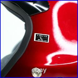 Shoei RJ Platinum-R 3/4 Open Face NEW Motorcycle Helmet Red