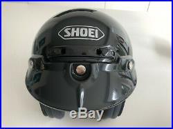 Shoei RJ Platinum open face helmet Black Small