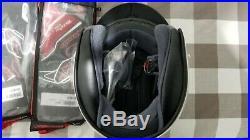 Shoei Rj Platinum-r Open Face Motorcycle Helmet Solid White Medium