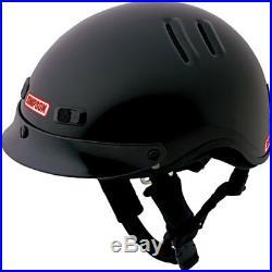 Simpson OTW Shorty Motorcycle Helmet Shorty Open Face DOT Approved
