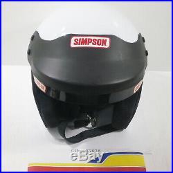 Simpson Racing Lx7678 Helmet 6-7/8 Lx-7 Open Face
