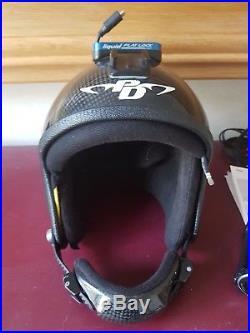 Skydiving Skydive cookie FF Open Face Helmet camera setup liquid flat lock