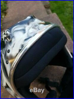 Skydiving Skydive cookie FF Open Face camera Helmet camera custom black white