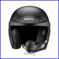 Sparco AIR PRO RJ-5i Open Face Helmet Black (FIA homologation) s. XXL