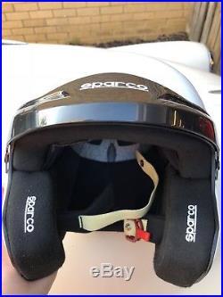 Sparco Open Face Hans Helmet