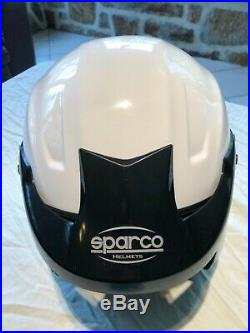 Sparco PRO-J Open Face Helmet SNELL FIA HANS Mount Size XL WithHelmet Bag
