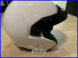 Sparco Pro RJ-3 Size M / L 59cm Car Racing/Race Crash Open Face Helmet w HANS