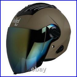 Steelbird Air SBA-3 Open Face Motorbike Helmet with Extra Clear Visor Helmets