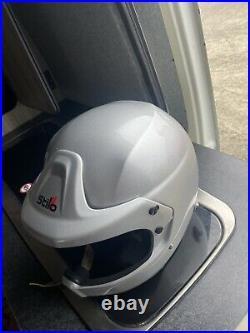 Stilo Des Wrc Race Rally Open Face Helmet Snell2010 Msuk Msa Intercom